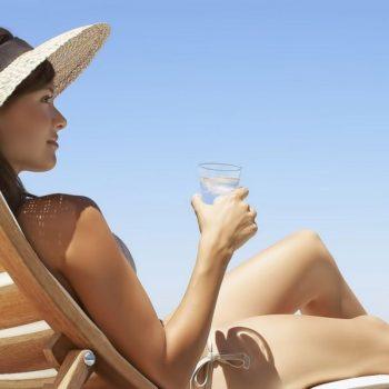 употребление алкоголя и загар после пластики груди