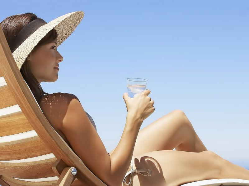 Спиртное и загар после маммопластики