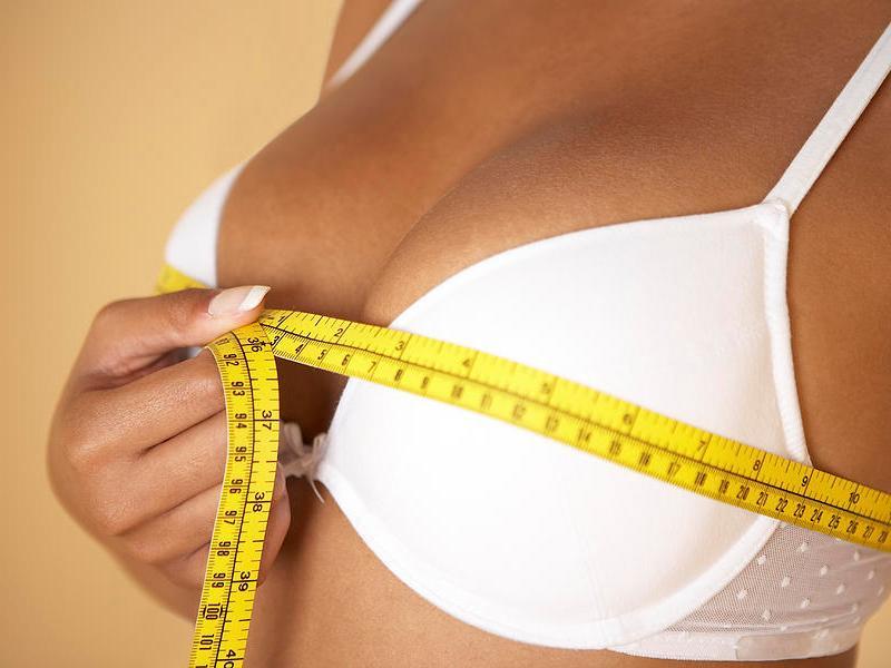 Как выглядит грудь после увеличения?