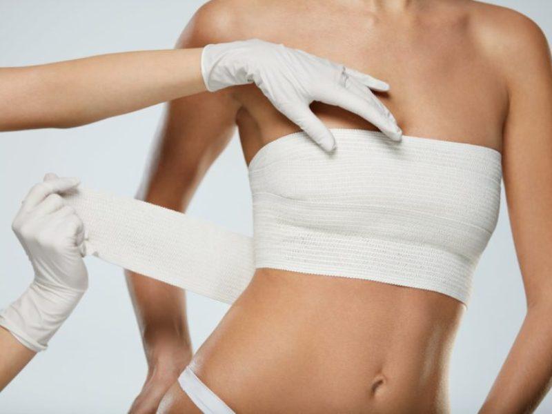 Сколько держится отек после увеличения груди?